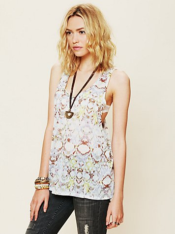 Free People Izzy Printed Tank