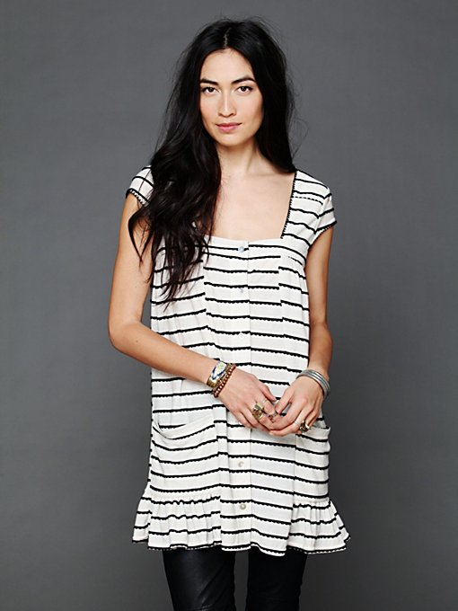 Cap Sleeve Buttondown Dress in sale-sale-dresses