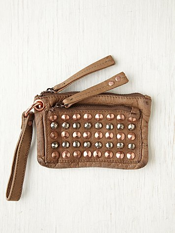 Free People Studded Zip Wallet