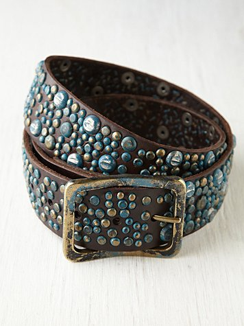 Weathered Stud Belt