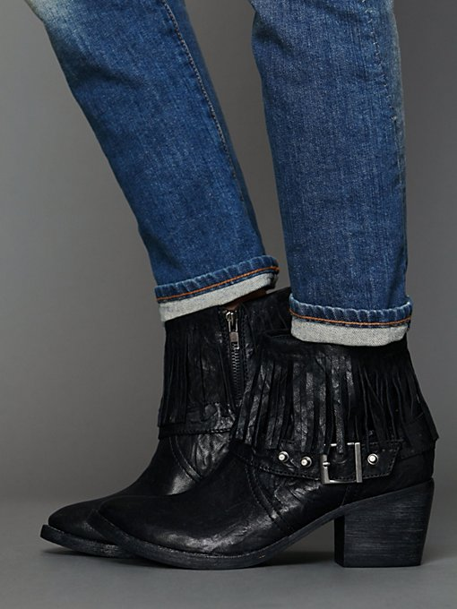 Faryl Robin for Free People Prey Ankle Boot in Cowboy-boots