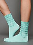 Ruffle Satin Ankle Sock
