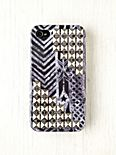 Printed Studded iPhone 4/4S Case