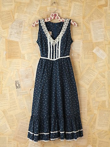 Free People Vintage Floral Printed Dress
