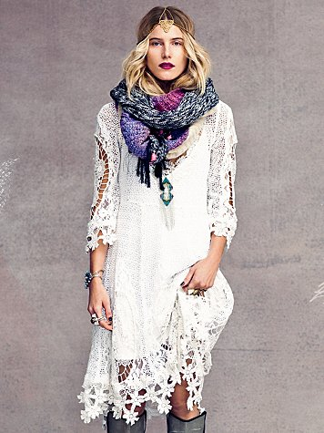 Free People Mi Amore Lace Dress