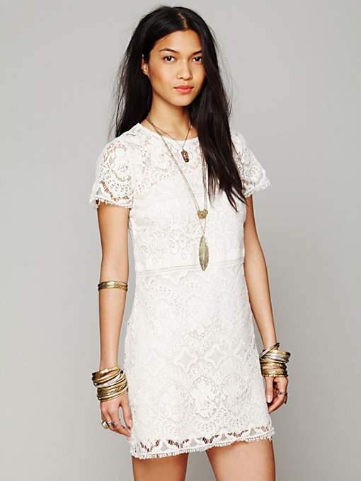 Straight Laced Shift Dress in shop-by-shape