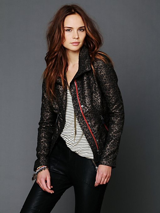 Leopard Zip Jacket