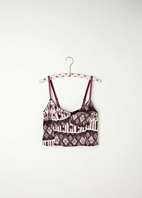 Printed Crop Bra in intimates-all-intimates