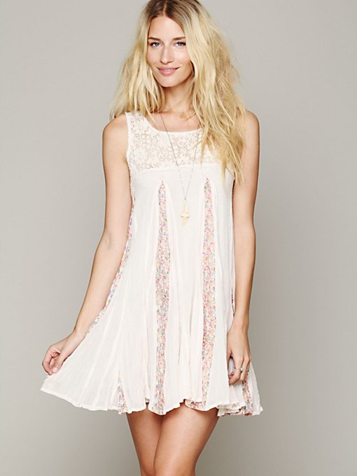 Free People FP ONE Annabella Day Dress in Mini-Dresses