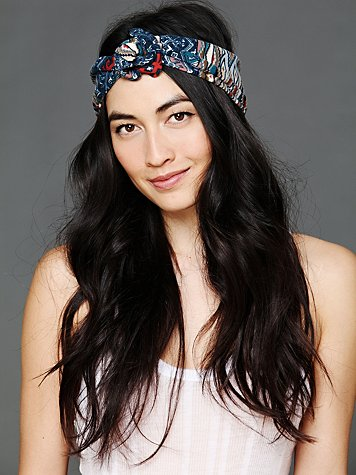Free People Tapestry Print Wire Tie