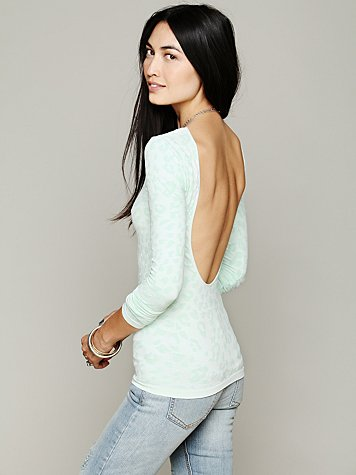 Intimately Printed Low Back Cami