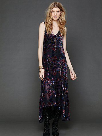 Intimately Burnout Velvet Maxi