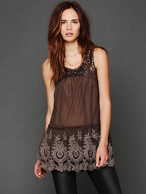 Mirror Mirror Sequin Tunic