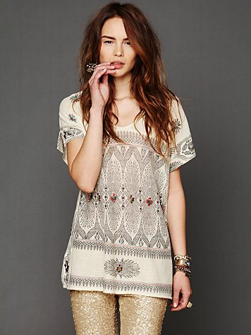 Free People FP New Romantics Byzantine Dreams Tunic