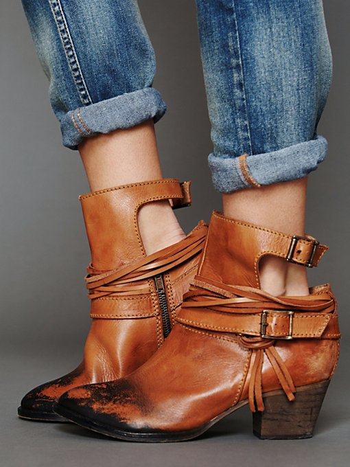 Free People Outpost Ankle Boot in Boots