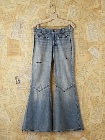 Free People Vintage Wide Flare Jeans