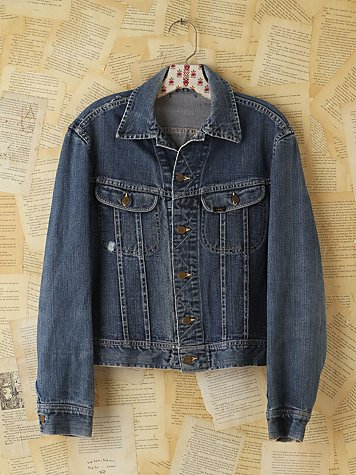 Free People Vintage Lee Denim Jacket