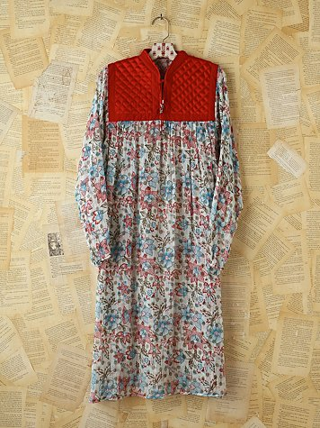 Free People Vintage Floral Printed Boho Dress