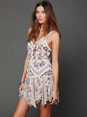 In And Out Ditsy Florals Slip