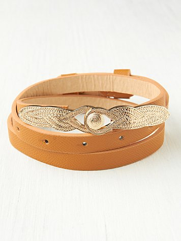 Free People Deco Lock Belt