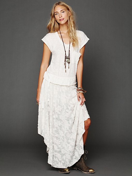 Free People Fit For A Princess Dress in maxi-dresses
