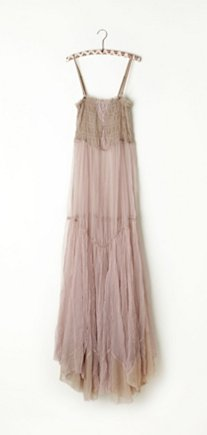 Raw Tulle Maxi Slip in intimates-all-intimates