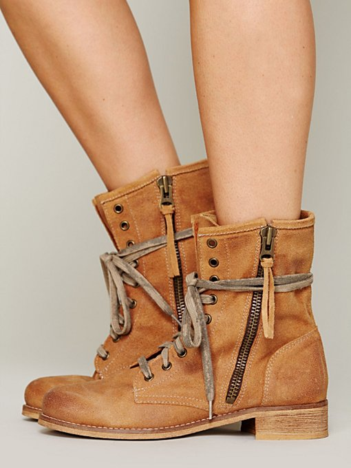 Greyson Lace Up Boot in shoes-boots