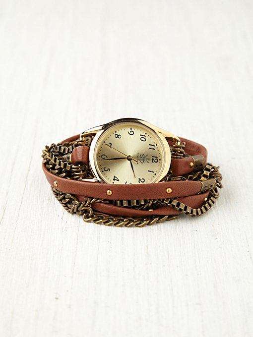 Multi Chain Wrap Watch