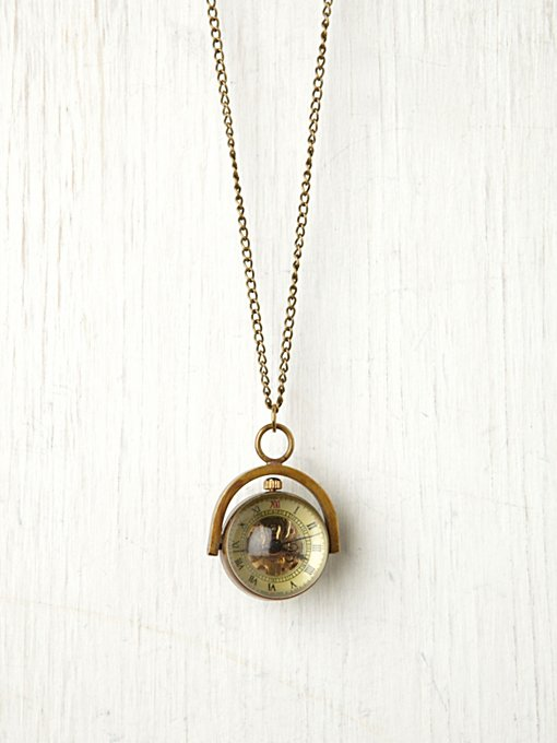 Sapphire Globe Necklace in bohemian-necklaces