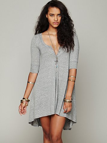 Drippy Jersey Dress