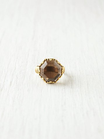 Octagonal Monarch Ring