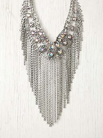 Anoushka Fringe Necklace