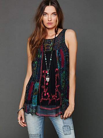 FP New Romantics Framed Tunic
