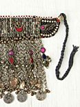 Vintage Afghani Tribal Bib Necklace
