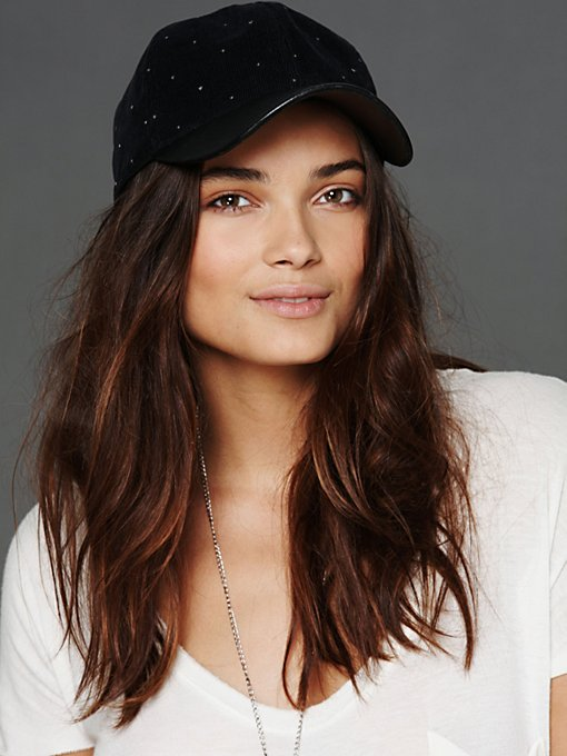 Leather Brimmed Hat in sale-sale-accessories