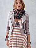 Lovely In Linen Motorcycle Jacket