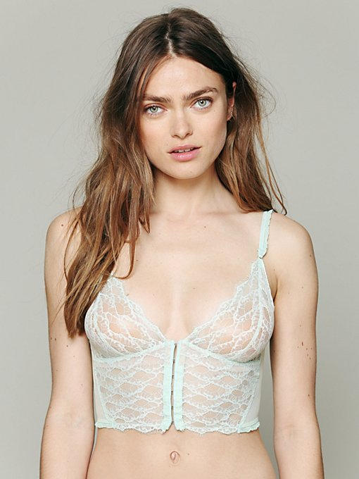 Intimately Anouk Longline Bra in lace-bras