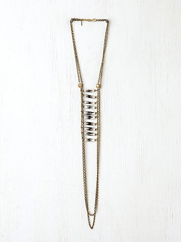 Bead Ladder Necklace