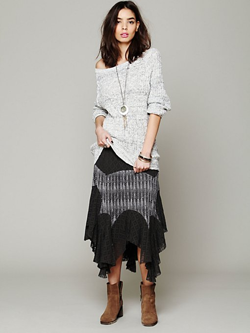 Diamond Knit Lace Skirt in sale-sale-bottoms