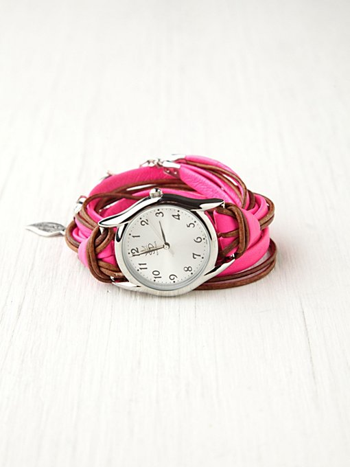 Sara Designs Neon Watch Bracelet in Sara-Designs