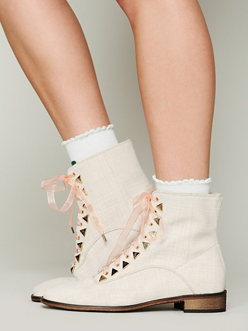 New Kid Dreamcore Ankle Boot in Studded-Boots