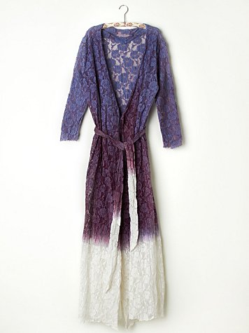 FP ONE Dip Dye Lace Robe