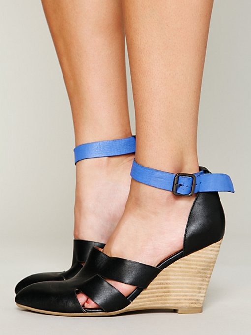 Jeffrey Campbell + Free People Courtland Mini Wedge in High-Heels