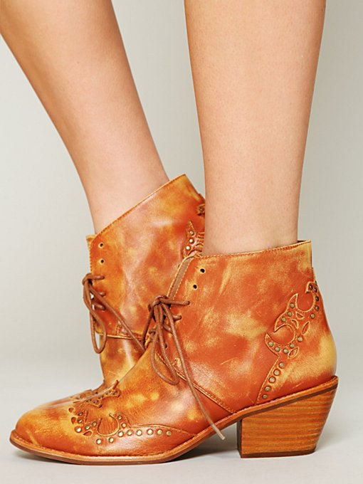 Jeffrey Campbell + Free People Bowery Ankle Boot in Boots