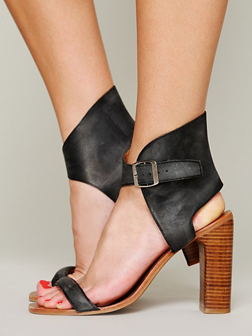 Jeffrey Campbell + Free People Magic Heel in ankle-strap-heels