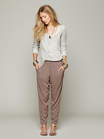 Free People Easy Pleat Pant