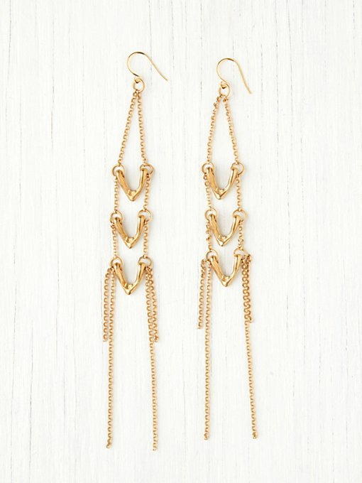 Leah Ball Vera Drop Earring in boho-jewelry