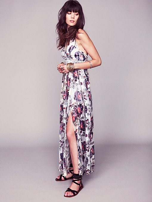 Free People FP New Romantics Flower Bomb Maxi Dress in white-maxi-dresses