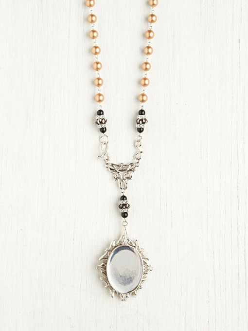 Virgins, Saints & Angels Reflections Rosary in beach-jewelry