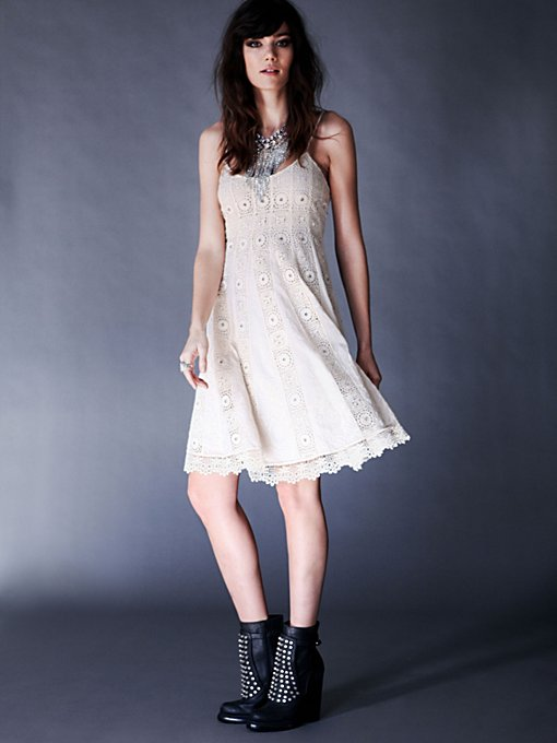 Sunray Trapeze Dress